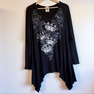 Vocal crown tunic